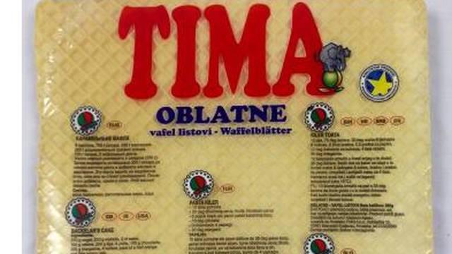 Zbog veće količina soje: TIMA oblatne se povlače iz prodaje