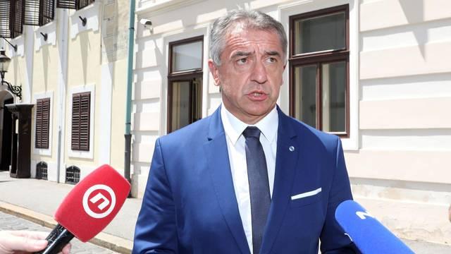 Zagreb: Darko Milinović stigao u Banske dvore na razgovor s premijerom Plenkovićem