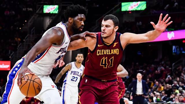 NBA: Philadelphia 76ers at Cleveland Cavaliers