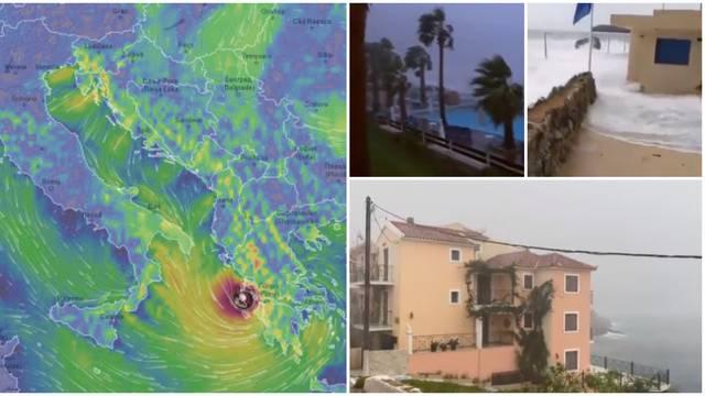 Uragan sve bliže Grčkoj: Brzo pronađite alternativni smještaj!