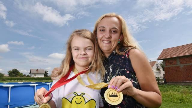 Magdalena je pobijedila tumor: Sada ide u školu i osvaja zlata