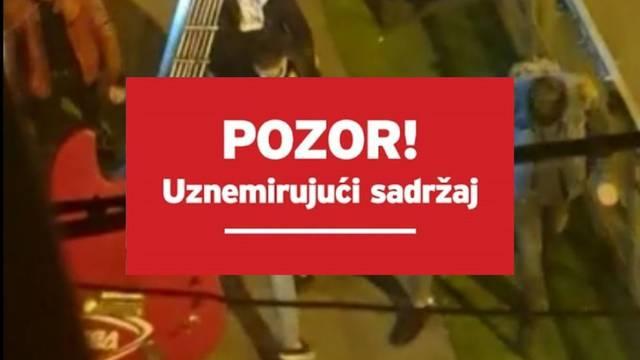 U centru Zagreba mlatili dečka, nisu stali ni kad je djevojka molila da stanu, jer je bolestan