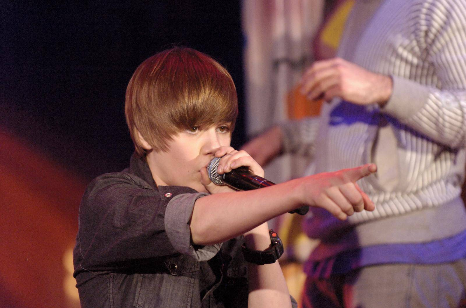 Justin Bieber Live at Much Music in Toronto
