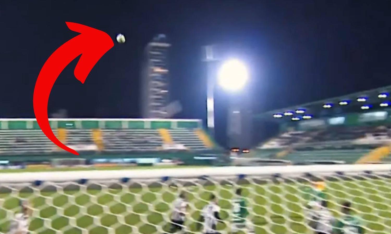 Nije sudar ni vjetar: Lopta je neobjašnjivo skrenula u zraku