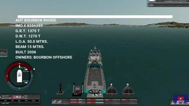 Simulacija: Objavio posljednju plovidbu Bourbon Rhodea