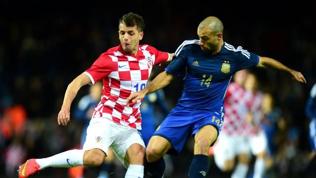Soccer - International Friendly - Argentina v Croatia - Upton Park