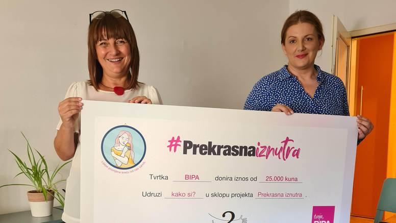 """BIPA donirala 25.000 kn udruzi """"kako si?"""" u dugoj fazi kampanje #PrekrasnaIznutra"""