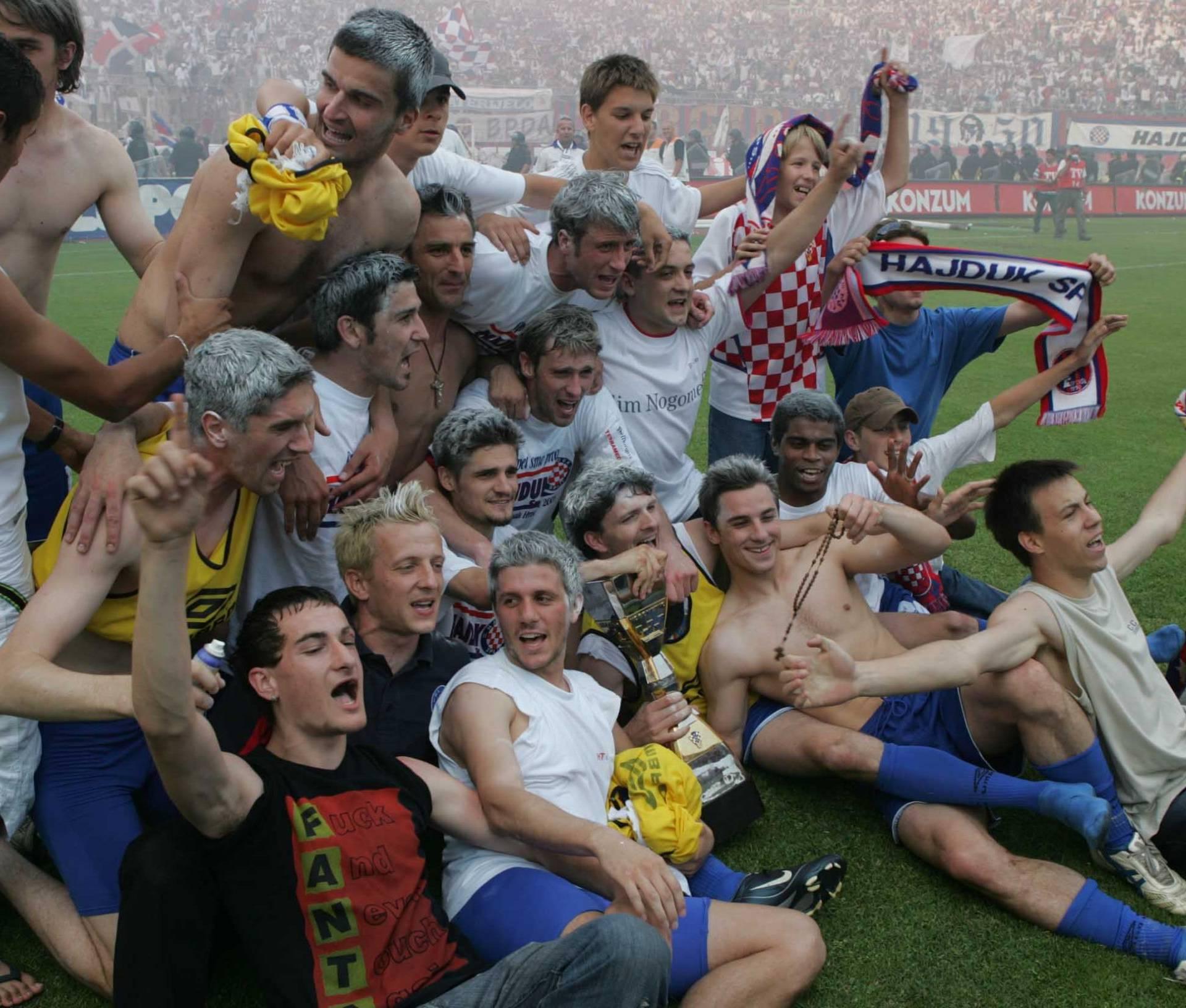 Prva HNL 04/05.: Niko prešao u Hajduk i donio posljednju titulu