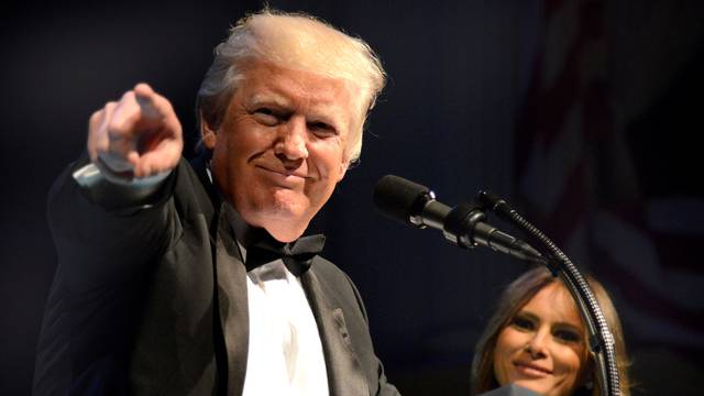 President Trump and First Lady Melania Trump attend Ford's Theatre Gala in Washington