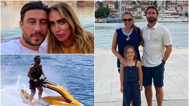Ecclestoneovi nastavljaju đir po Jadranu: Zabavljaju se na jet skiju, a vole i šetnje obalom...