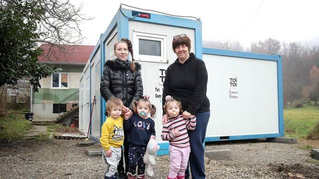 Trojčeki iz Čučerja dobili stan: Djeca više ne kašlju, soba im je puna igračaka. Da im vidite lica
