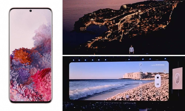 Snagu nove kamere Samsung pokazao na ljepoti Dubrovnika