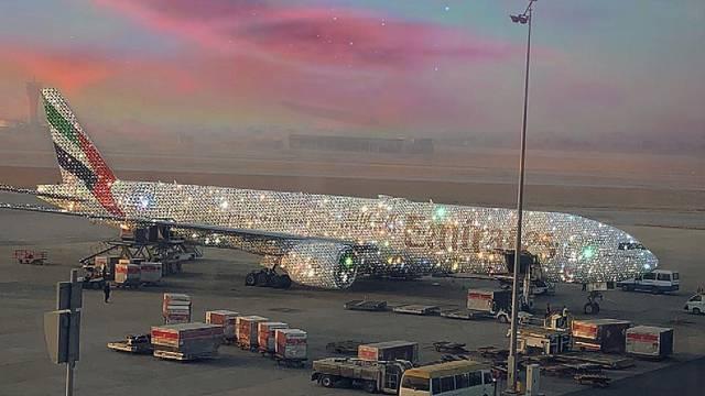 Emirates na Instagramu: Ovo je naš novi avion zvan 'Bling'