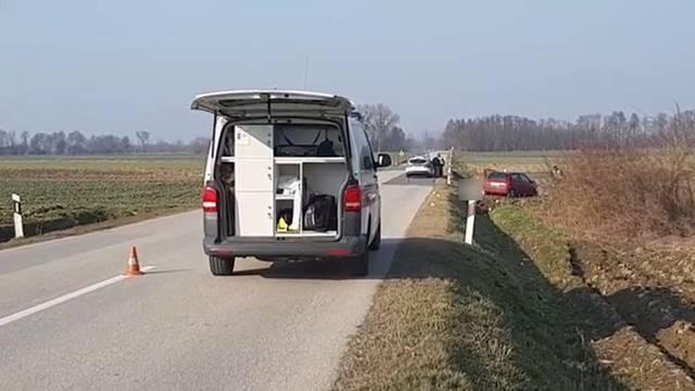 Strašna nesreća u Podravini: Vozač sletio s ceste i poginuo