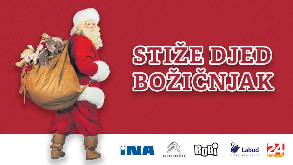 Pripremite se! Djed mraz dolazi u Dalmaciju i Istru