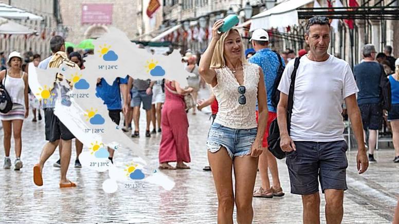 Danas je žuti alarm za veći dio  Hrvatske, sutra i ispod 10 °C