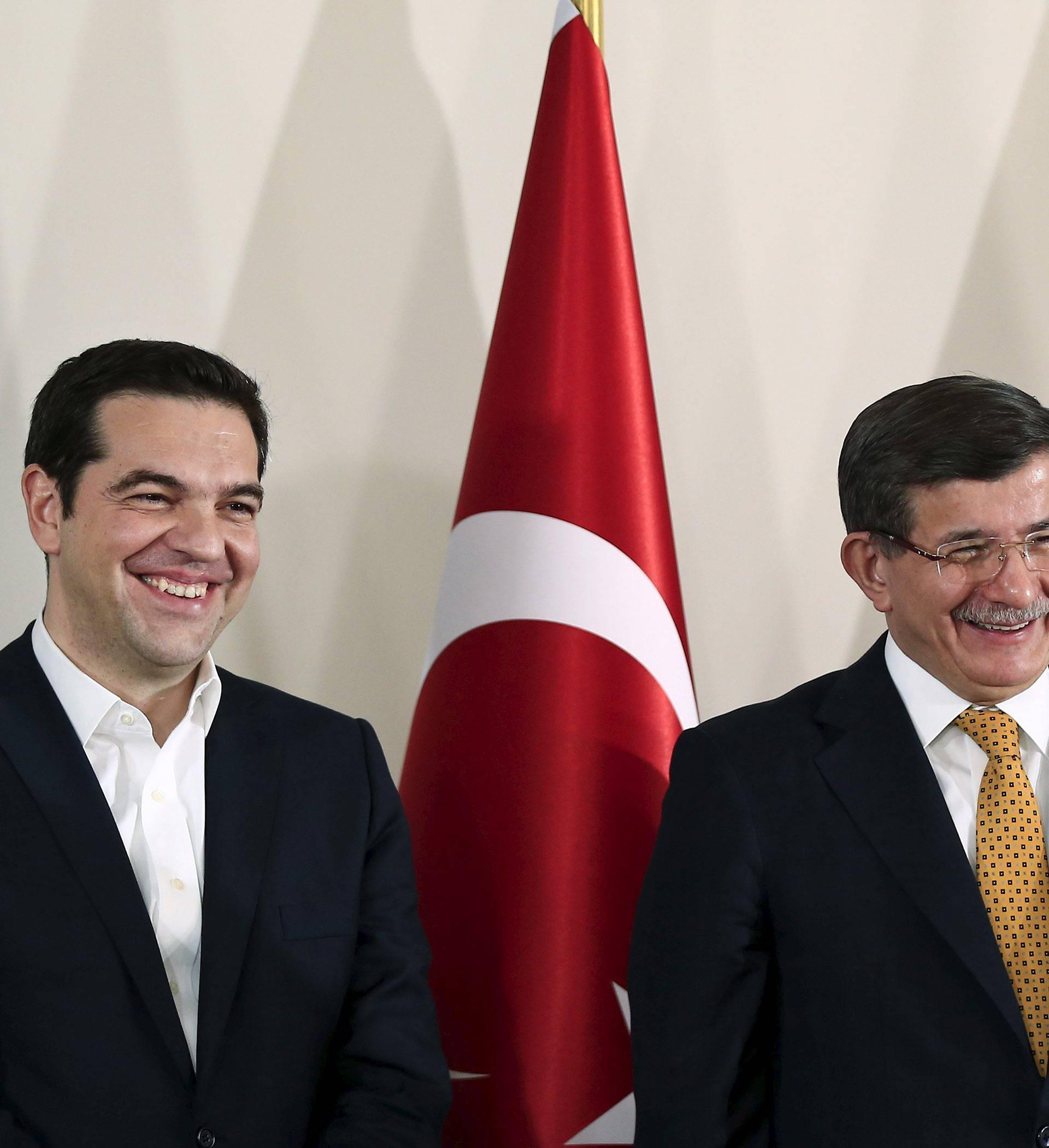 """Davotoglu: """"Turska i Grčka imaju isto stajalište o krizi"""""""
