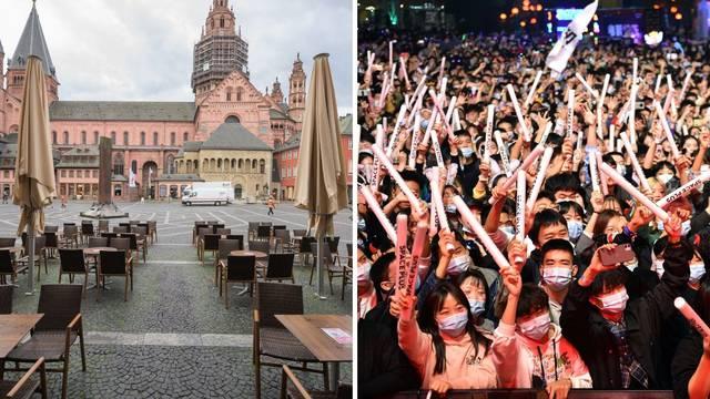 Europa prazna, a u Wuhanu ludilo: Partijali za Noć vještica