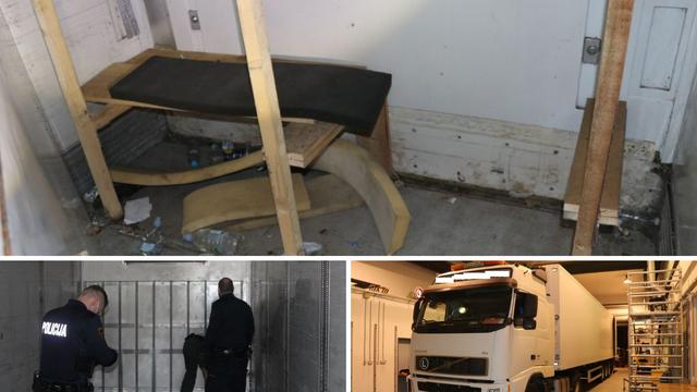 Švercali migrante na Obrežju: 13 ljudi ugurali u lažni zid, skoro su se ugušili, bilo je i dvoje djece