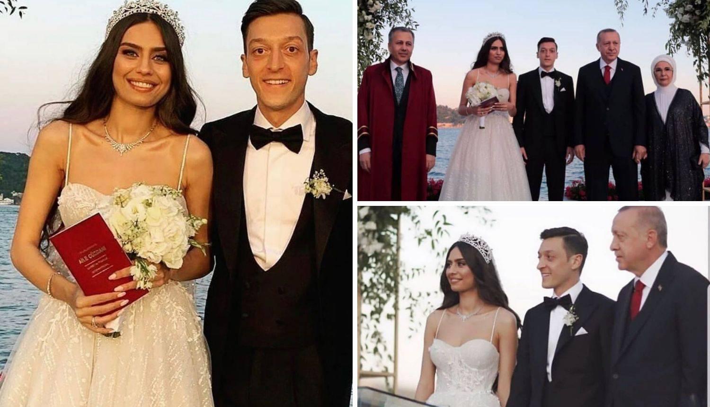 Oženio se nogometaš Mesut Ozil, a Erdogan mu je bio kum