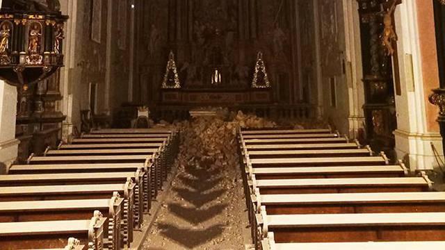 Zagreb: Potres oštetio crkvu sv. Katarine i crkvu svetog Marka