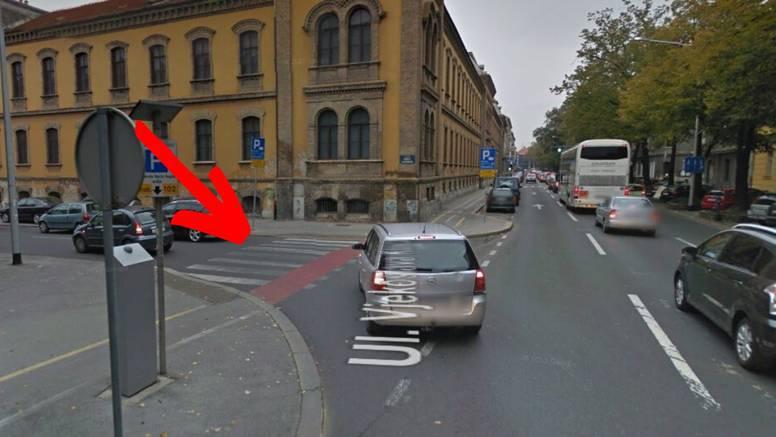 Naletio na pješakinju u centru Zagreba: Preminula je u bolnici