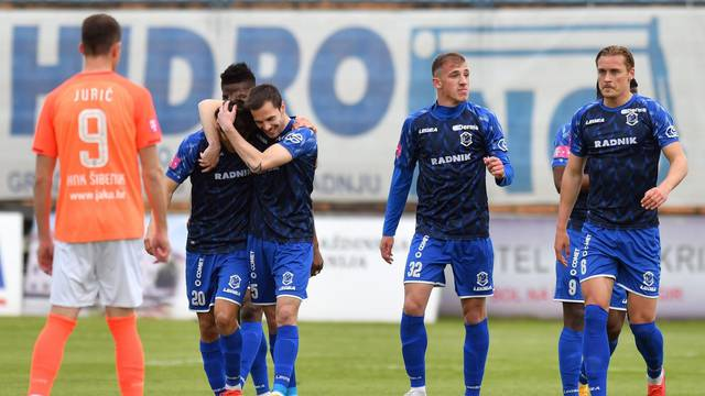 Varaždin: NK Varaždin i HNK Šibenik odigrali utakmicu 29. kole Prve HNL