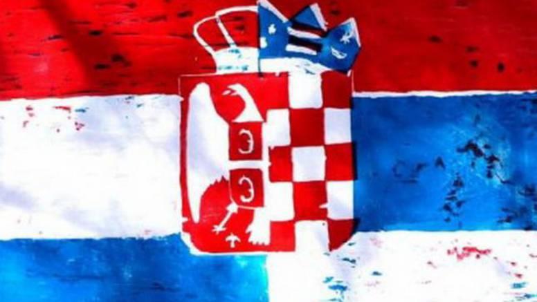 'Fejs' nas miri: Zastave Srbije i Hrvatske spojene su u jednu...