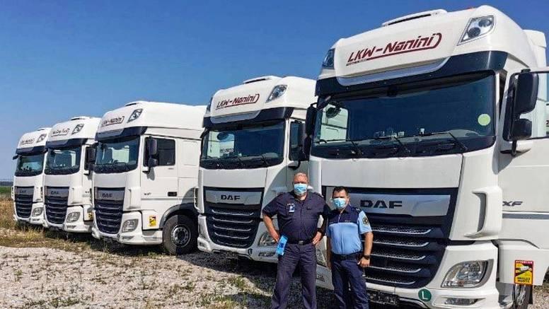Hrvatski policajci na granici s BiH pronašli 22 od 50 kamiona koji su ljetos ukradeni u Austriji
