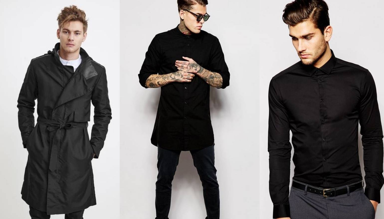 Dečki u crnom: Raznolikost teksture za odličan urbani stil
