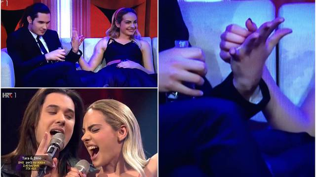 Ulovila kamera: Tara i Dino se držali za ruke. Ona ga češkala