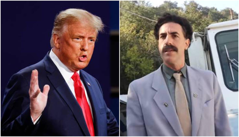 Borat je uzvratio Trumpu: 'Ni ja tebe ne smatram smiješnim, ali ipak ti se cijeli svijet smije...'