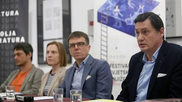 Zagreb: Konferencija za medije Festivala svjetske knji??evnosti