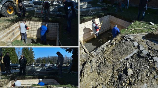 Ovdje će biti pokopan Bandić, najbliži grob udaljen 5 metara