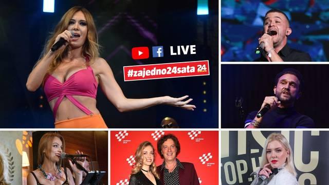 Donosimo live koncert velikih zvijezda: Danas u tvom domu!