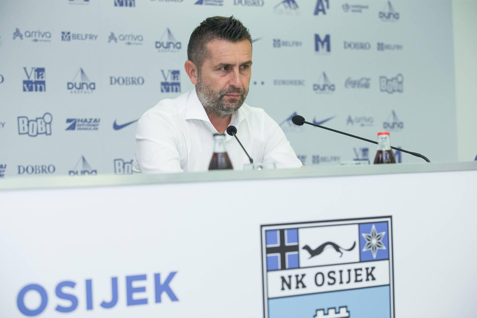 Osijek: Konferencija ze medije trenera GNK Dinamo i NK Osijek