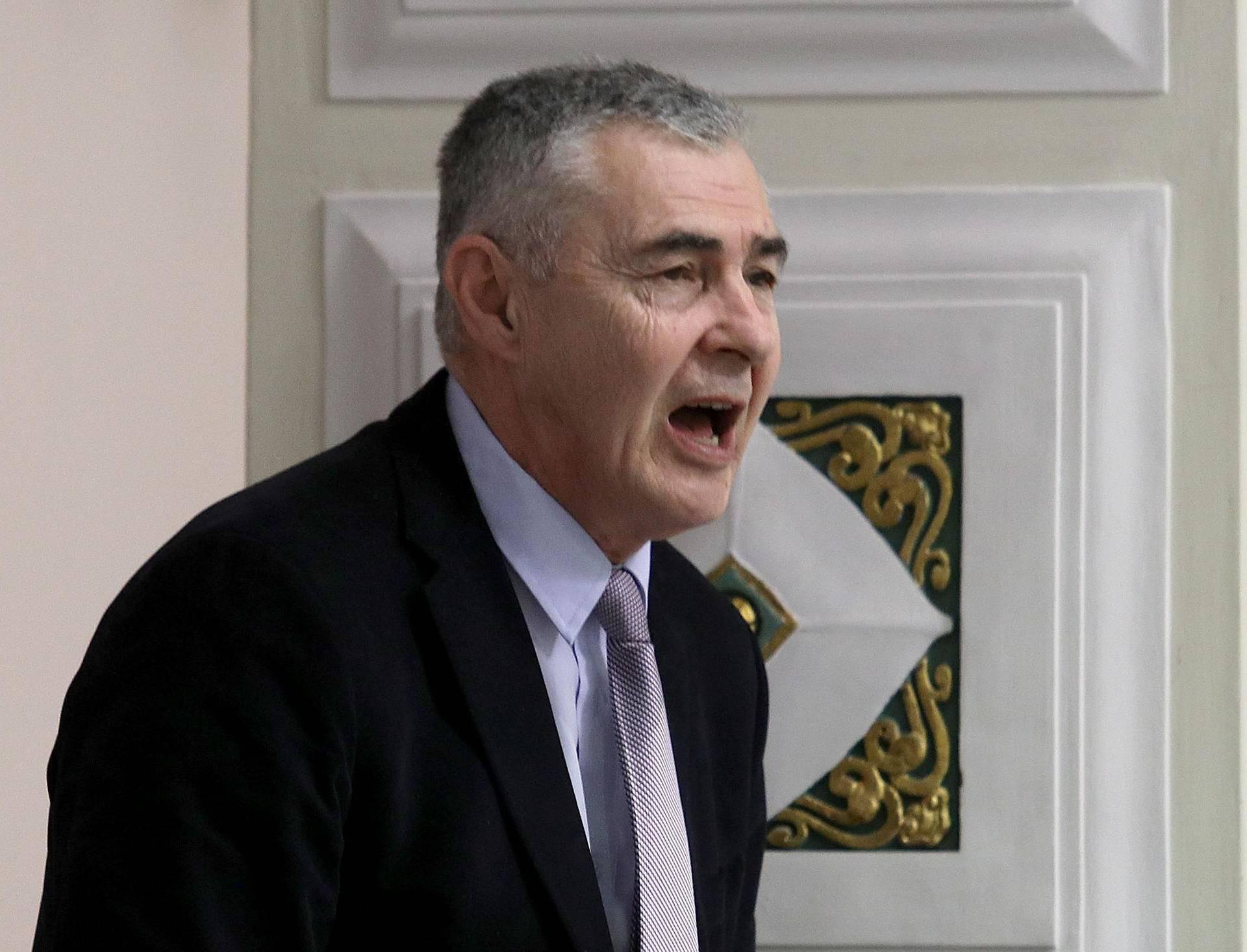 Željko Glasnović na kongresu ekstremno desne stranke NPD