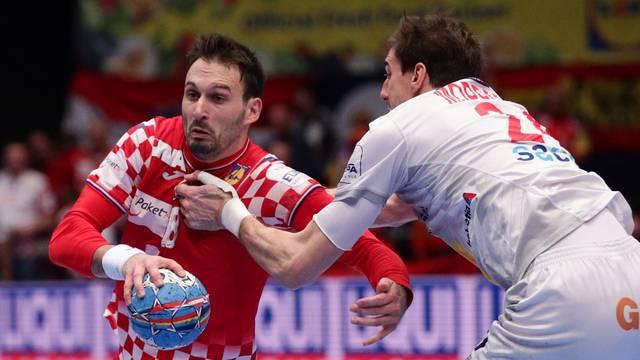 Men's 2020 EHF European Handball Championship - Main Round - Group 1 - Croatia v Spain