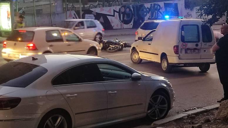 Vozača motocikla hitno prevezli u bolnicu nakon sudara u Splitu