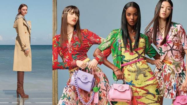 Život je plaža: Brendovi Versace i Burberry pozivaju na odmor