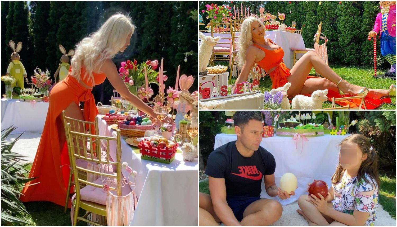 Karleuša i Duško slavili Uskrs kao u bajci, tucali i nojeva jaja