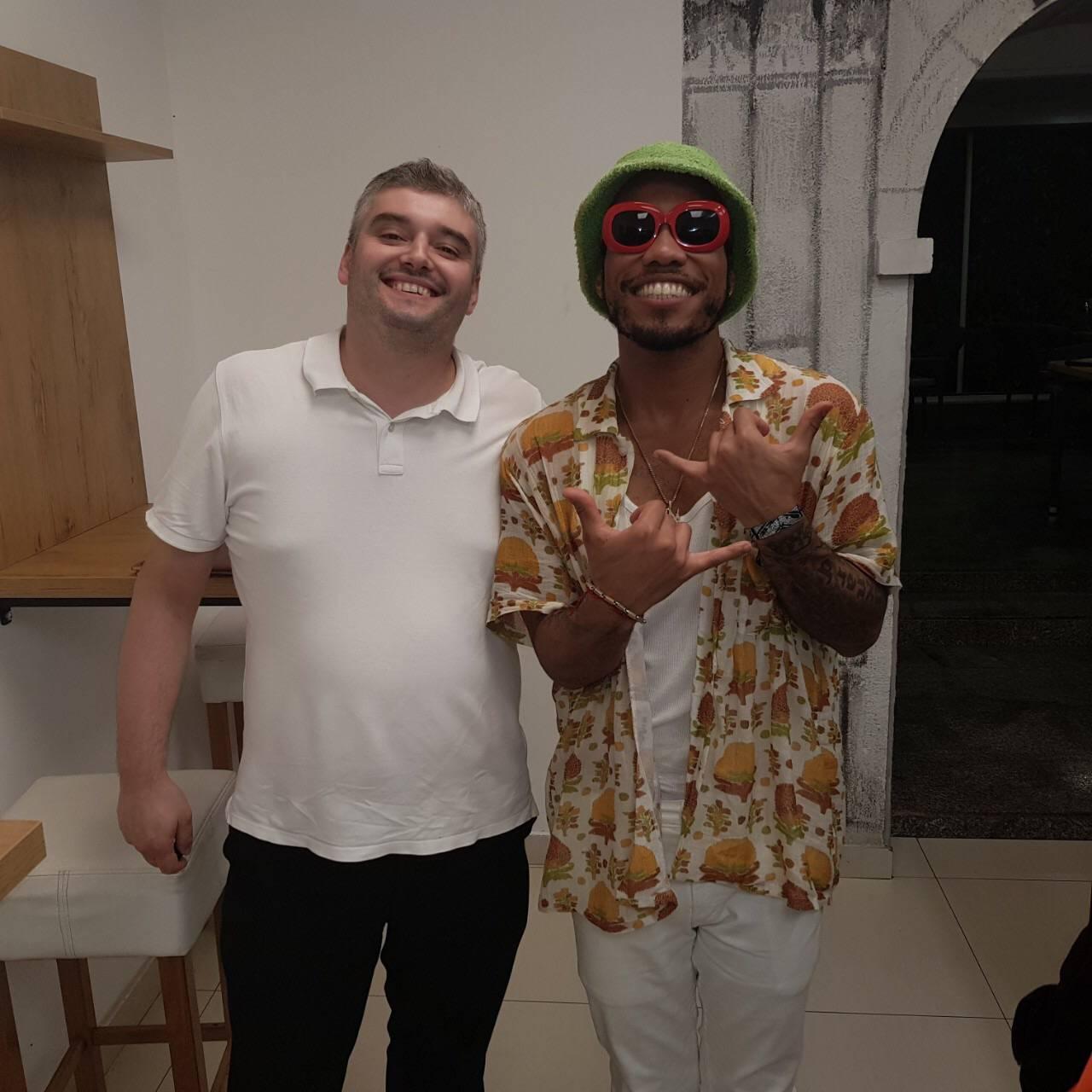 Hip hop zvijezda u restoranu u Puli: Donio svoj CD s glazbom