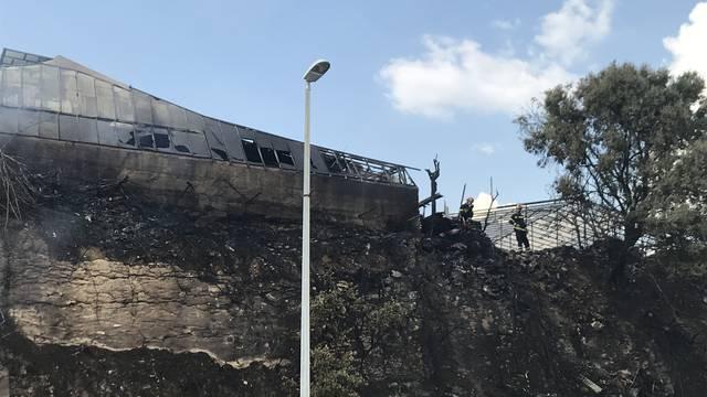 Policija traži piromana koji je podmetnuo požar na Žnjanu