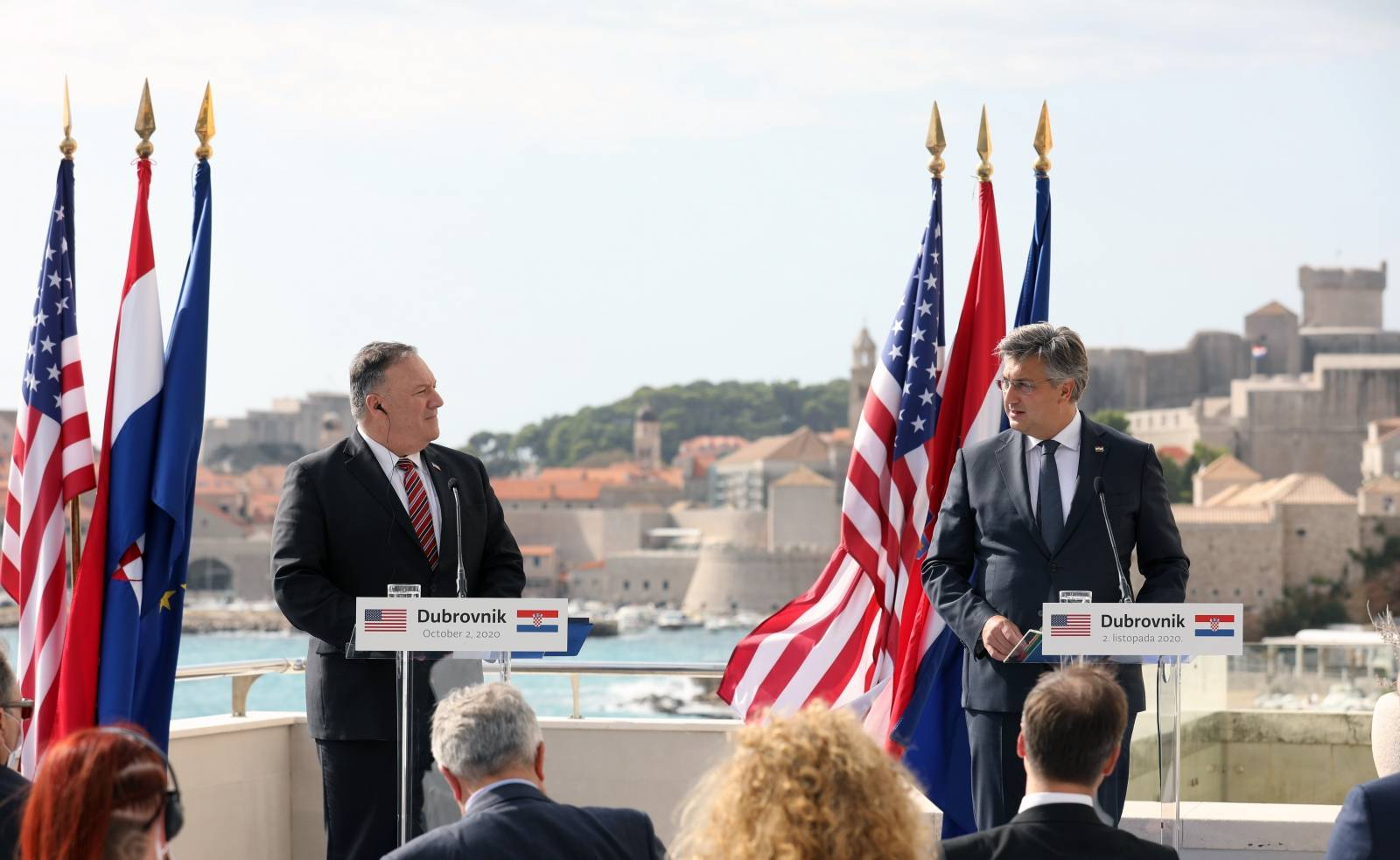Držvni tajnik Sjedinjenih američkih država Michael R. Pompeo sastao se s premijerom Plenkovićem
