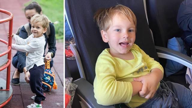 Maleni Šimun (4) otputovao na nove operacije pa tješio obitelj: 'Nemojte plakati, brzo ću doći...'