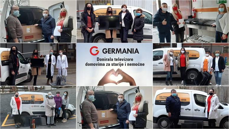 Germania donirala televizore zagrebačkim domovima za starije i nemoćne