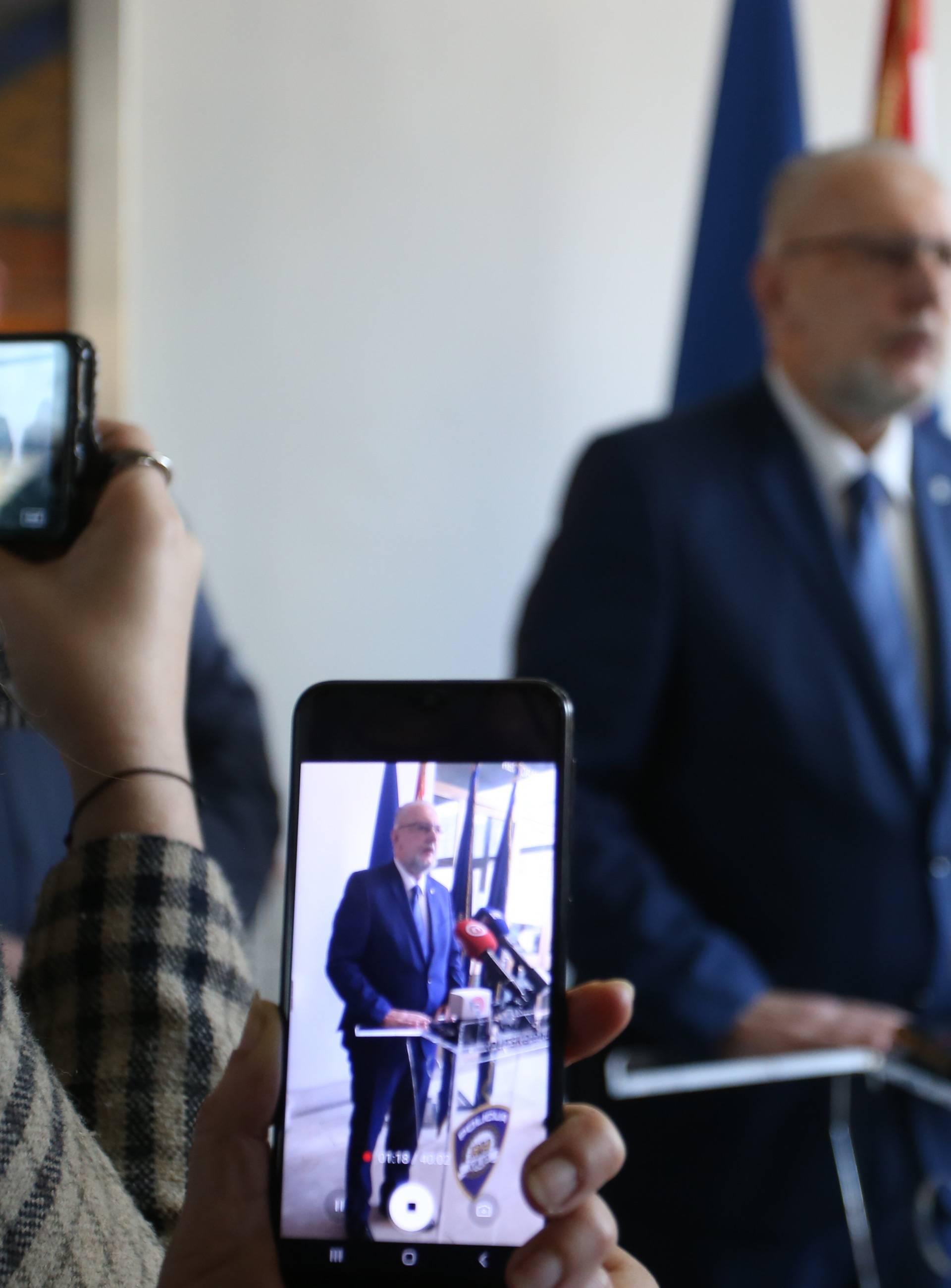 Split: Božinović na konferenciji o trostrukom ubojstvu