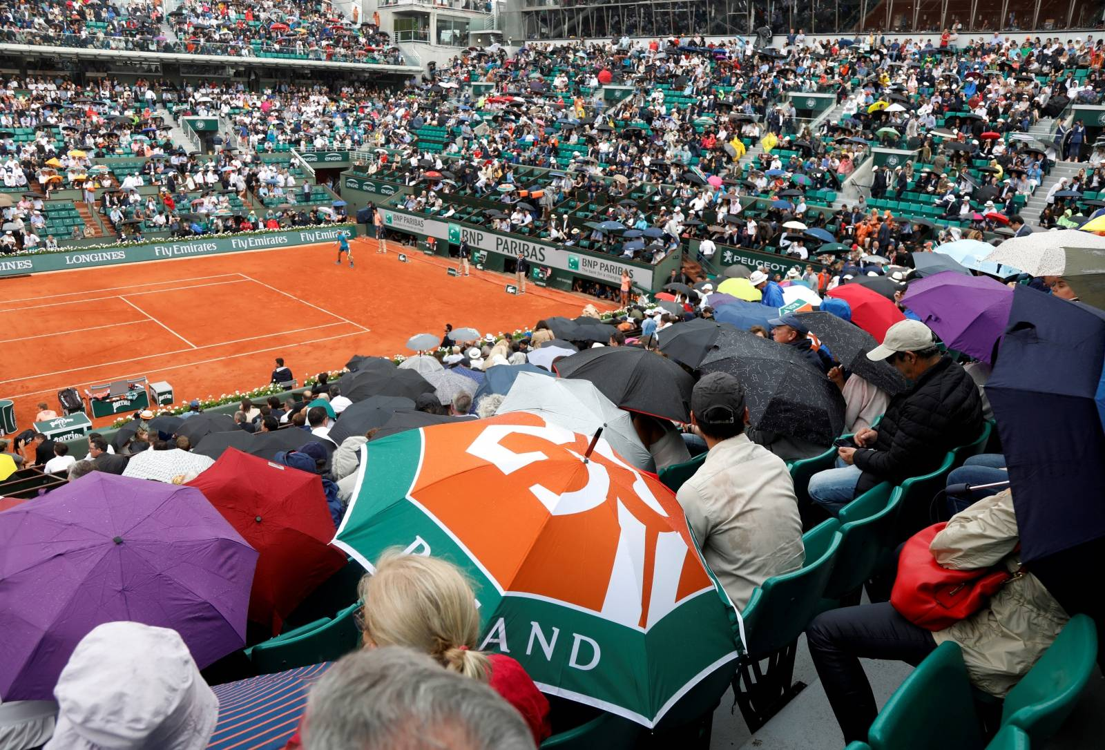 FILE PHOTO: French Open - Roland Garros