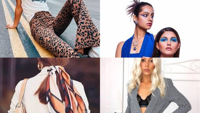 Modni trendovi u 2020.: Trake, marame, trapezice i plava boja