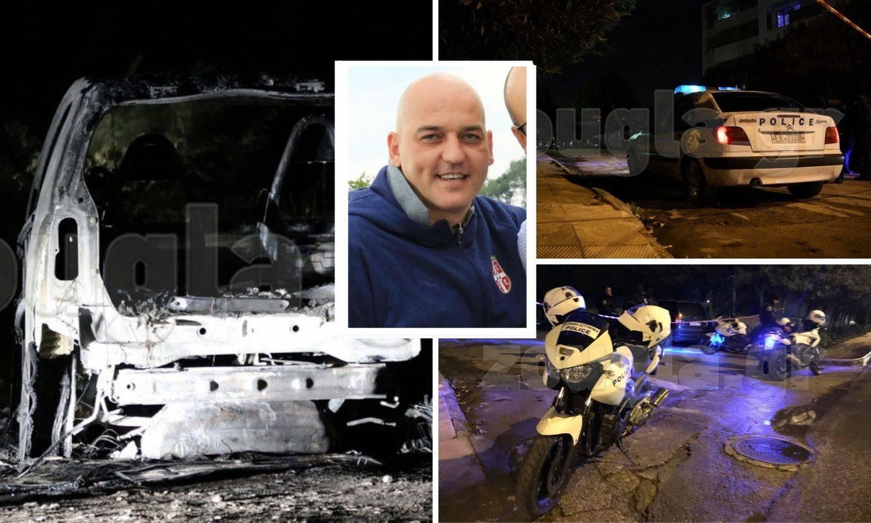 Pucao u Kovačevića, pobjegao autom i zapalio ga: Traže ga...